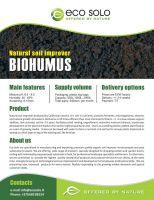 Vermicompost - organic soil improver