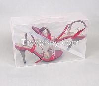 plastic clear shoe boxes