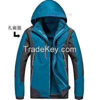 2015 hooded lightweight windbreaker jacket