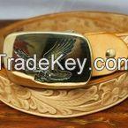 Handmade custom belt