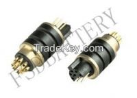 6Pin4hole4pin6hole Black Connector
