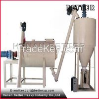 HJJ1500 dry mortar concrete batching plant