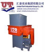 Multifuctional single shaft shredder / industrial waste recycling machine / scrap treatement equipment / one shaft shredder