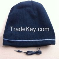 Winter Beanie Cap With Headphone