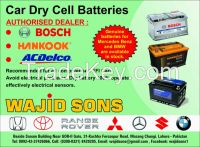 Car Dry Cell Batteries For