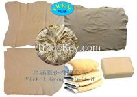 100% Fish oil tanned chamois leather  for car drying