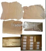 100% Fish oil tanned chamois leather