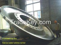 Getai Micro hydro turbine generator francis runner