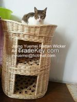 wicker dog house willow dog house wicker pet house willow pet house