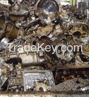 used Aluminium engine block