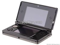 Handheld game System touch screen for 3DS Black