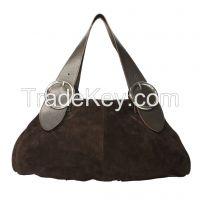 Ladies Genuine Leather Suede Handbags