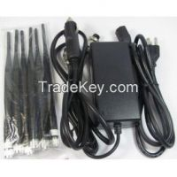 6 Bands Cell Phone Jammer - GPS Jammer - Wifi Jammer - 2G 3G Jammer