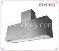 EKD03 150cm Kitchen hood of industrial suction