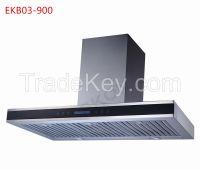 EKB03 CB CE Approved 90cm Baffle Filter Kitchen Hood