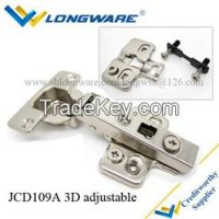 Furniture hydraulic soft close concealed cabinet hinge
