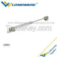 Gas spring, gas support or gas piston