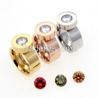 Interchangeable Ring Stainless Steel Ring For Women