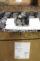 AC Compressor Used/Core Denso 10P17C - Mercedes-Benz/Audi