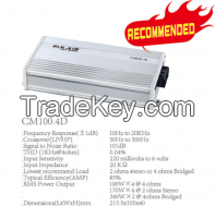 CM100.4D Class D 100W 4 Channel Mini Car Amplifier