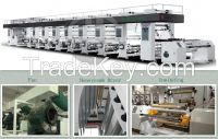 LY-YAD-B High speed PLC rotogravure printing machine