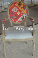 French Style Solid Wood Dining Chair