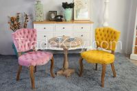 french wood dining chairs  dc-1057