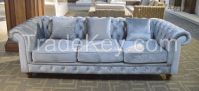French Baroque Sofa Collection Royal Living Room Furniture/