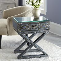 Morden latest nightstands with solid wood