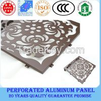 Perforated aluminium sheet/building construction material