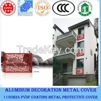 Waterproof air conditioner cover/aluminum air conditoner protect cover