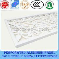 Aluminium square ceiling/perforated ceiling title