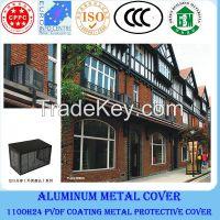 Outdoor aluminium air conditioner protect cover
