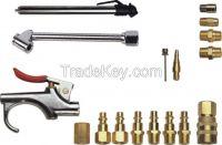 Air Tool Accessory Kit 17 Pc