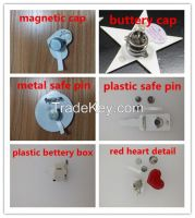 low price flashing magnetic, Flashing magnetic LED Pin Supplier