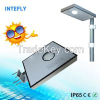 Intefly high quality all in one solar garden light new design