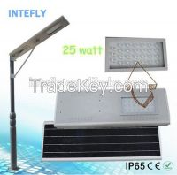 Intefly 60w high lumen solar led street light with 2 years warranty