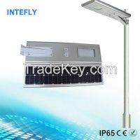 Intefly 30w high brightness waterproof 12 volt solar led street lighting fixtures