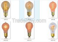 china high quality wholesale Edison light bulbs A19 A60 fliament lamp product base E26 E27 B22 incandescent light bulbs