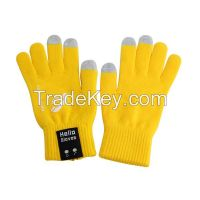 Calling bluetooth talking gloves with Touch control & Handsfree