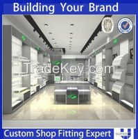 2014 Retail stores fashion display equipment for shoes or clothing shop, clothing store display and equipment, mdf shoe display rack