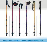 3-section telescopic walking sticks