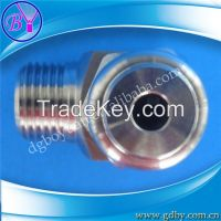 Low pressure hollow cone water jet nozzle for cleaning equipment
