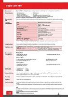 Water Based Emulsion - Superlack 786