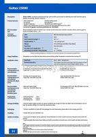 Water Based Emulsion - Geltex 25000