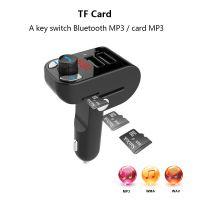 Unique Design Bluetooth Car FM Transmitter Music Modulator Car Kit Hands Free Call With U Disk /TF Card