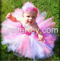 baby tutu dresses with flower girl handmade tutus ballet dress