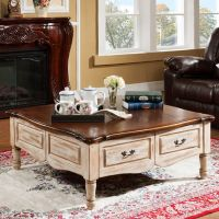 Coffee table wooden table antique table FY-2006