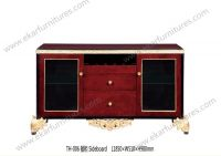 European Style Classic Kitchen Side Cabinet