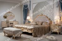 Luxury Royal NeoClassic Solid Wood Bedroom Furniture